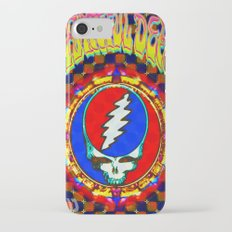 Grateful Dead #8 Optical Illusion Psychedelic Design Slim Case iPhone 7