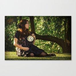 tick-tock Canvas Print