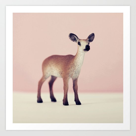 Oh Deer Art Print