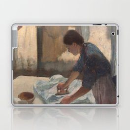 Woman Ironing Laptop & iPad Skin