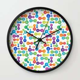 Metaball Design for Nerds Wall Clock