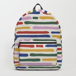 Seamless Summer Pattern Backpack