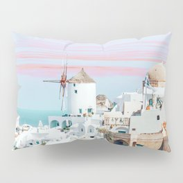 Scenic Greece #digitalart #travel Pillow Sham