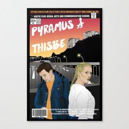 PYRAMUS & THISBE Canvas Print