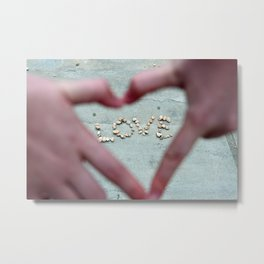 Love, Love, Love Metal Print