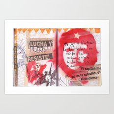 Arms of Che Art Print