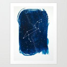 Leo Zodiac Print Art Print