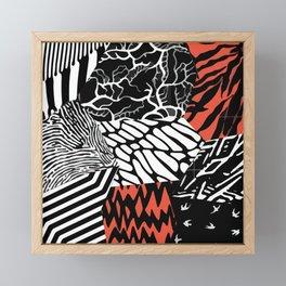 Blurryface Framed Mini Art Print
