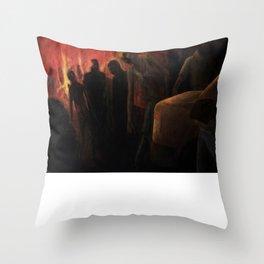 The Ravenous Undead Throw Pillow