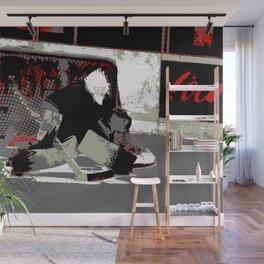 Goal Stopper - Ice Hockey Goalie Wall Mural