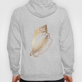 Gold Conch Shell Hoody