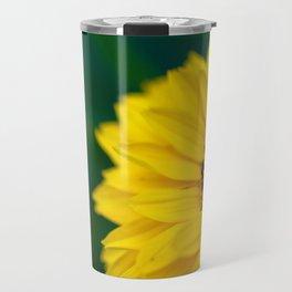 Yellow Daisy - Flower Photography Travel Mug