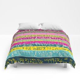 Egyptian hieroglyphs No2 Comforters