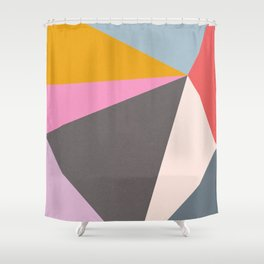 Abstract 09 Shower Curtain