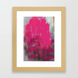 Beyond the Pink Framed Art Print