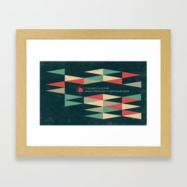 The Institute Framed Art Print