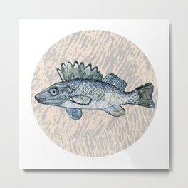 moon fish  Metal Print