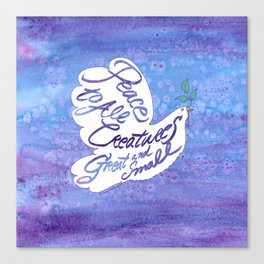 Peace Dove Canvas Print