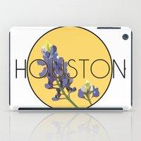 houston iPad Cases featuring HOUSTON by Lauren Jane Peterson