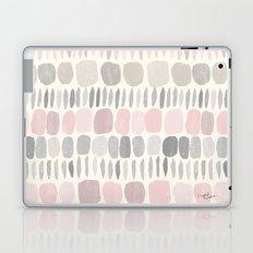 Soft Blush Stones Laptop & iPad Skin