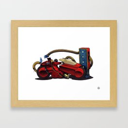 Kaneda. Framed Art Print
