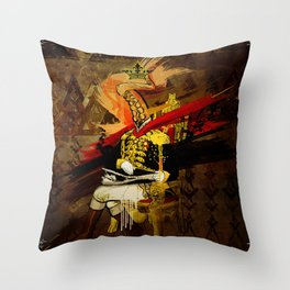 The Commodore Throw Pillow