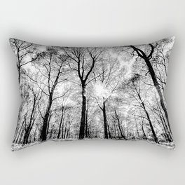 The Forests Sketch Rectangular Pillow