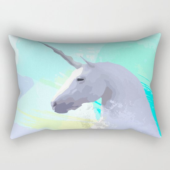 Magic Unicorn I Rectangular Pillow