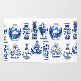 Blue Vases Rug