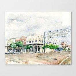 Downtown Brookhaven Canvas Print