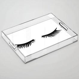 Lashes Acrylic Tray