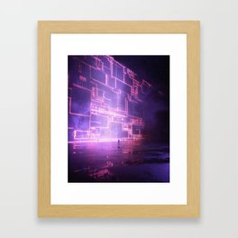 Figuring it Out Framed Art Print