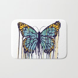 Melting Monarch (collab with Matheus Lopes) Bath Mat