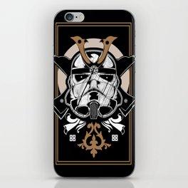 Trooper x Samurai iPhone Skin
