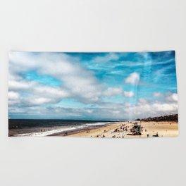 Manhattan Beach Summer Beach Towel
