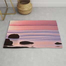 Lines in the Sea Rug