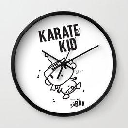 Karate Kid Wall Clock