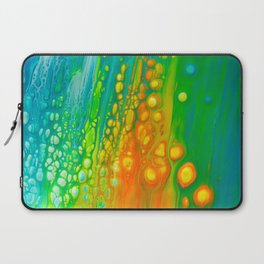 Aqua orange Laptop Sleeve