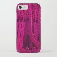 leather iPhone & iPod Cases featuring Leather pattern by Pepita Selles