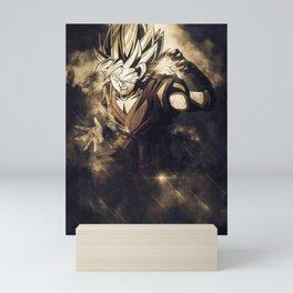 Goku Vegeta Dragon Ball Mini Art Print
