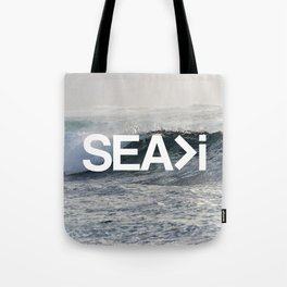 SEA>i  |  The Wave Tote Bag