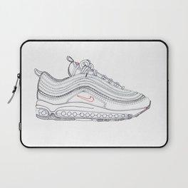 Silver Laptop Sleeve