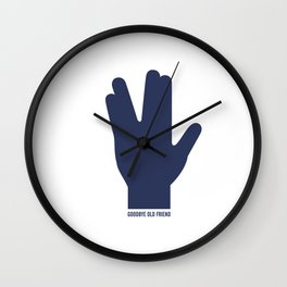 bye spock Wall Clock