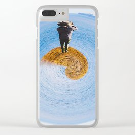 island in ocean Clear iPhone Case