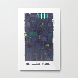 AFK Metal Print