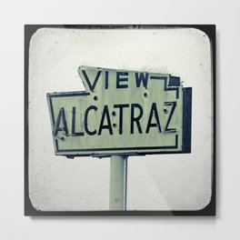 View Alcatraz Metal Print