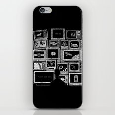 TV Addict iPhone Skin