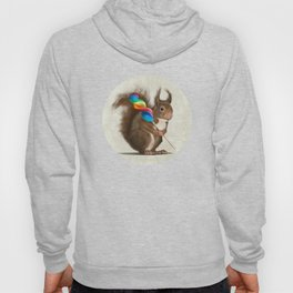 Squirrel with lollipop Hoody