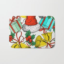 Accessories for winter Advent and Christmas Bath Mat