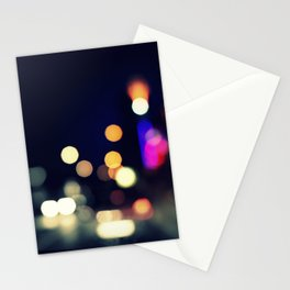 a street full of lighters Stationery Cards